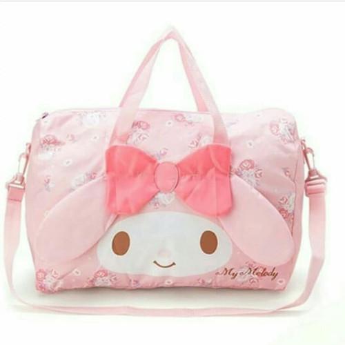My Melody Foldable Boston Bag Luggage