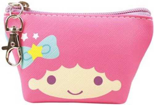 Kiki & Lala Little Twin Stars Triangle Zip Pouch Keychain