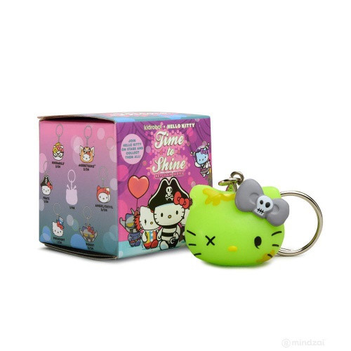 Hello Kitty Time to Shine Vinyl Keychain Mini Surprise Box Series