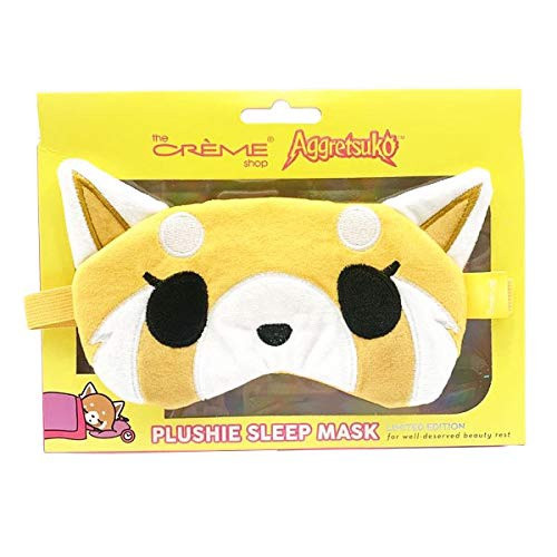 Aggretsuko Plush Sleep Mask