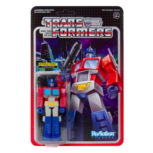 Optimus Prime Transformers ReAction Figure