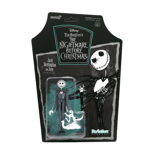 Jack Skellington Nightmare Before Christmas ReAction Figure