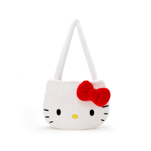 Hello Kitty Face Shape Tote Bag