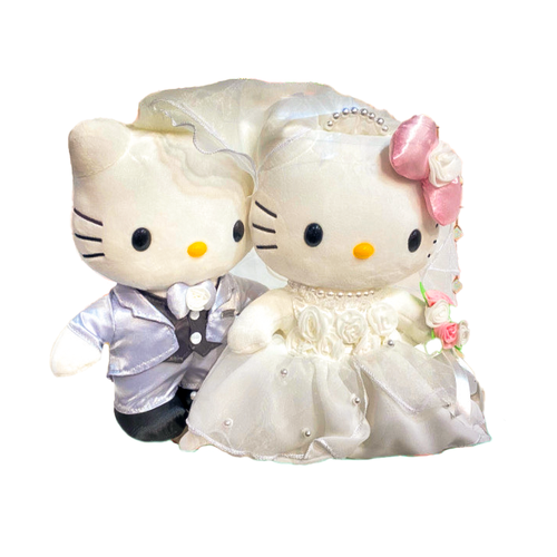 Hello Kitty Dear Daniel Wedding Plush Set of 2