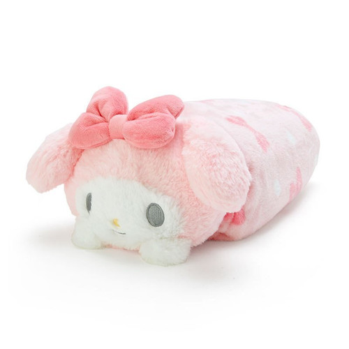 My Melody Blanket with Plush Case