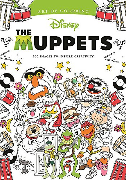 The Muppets Art Of Coloring Book