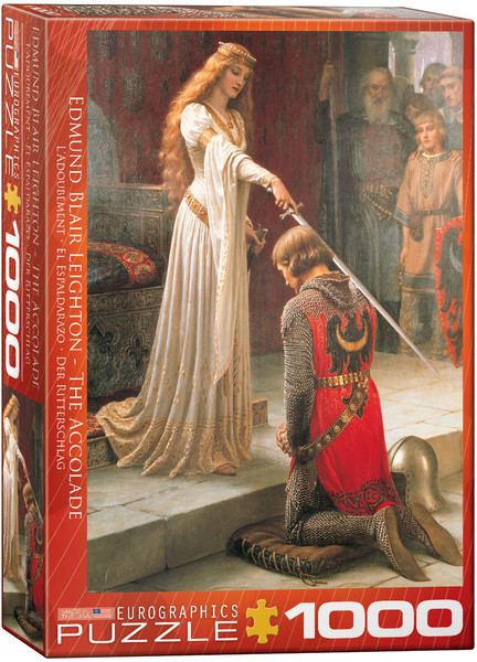 The Accolade by Edmund Blair Leighton 1000 Piece Puzzle