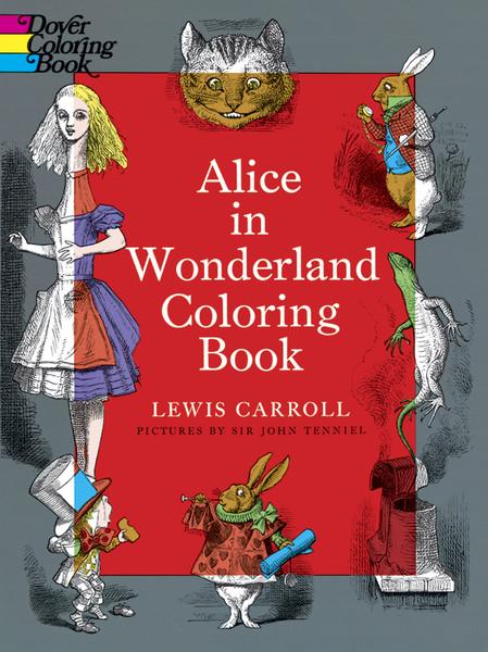 Alice in Wonderland Coloring Book