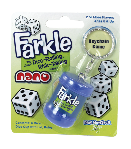 Farkle Nano Keychain edition