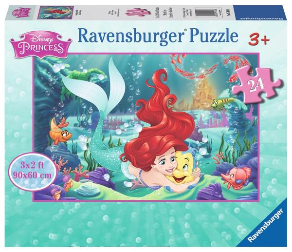 Disney's The Little Mermaid Floor Puzzle 24 Piece Puzzle