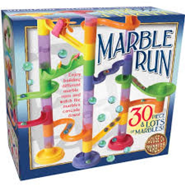 Marble Run 30 piece plastic House of Marbles