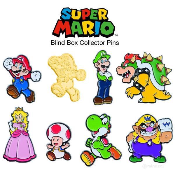 Super Mario Collector Pins: Series 1 Surprise Box Nintendo