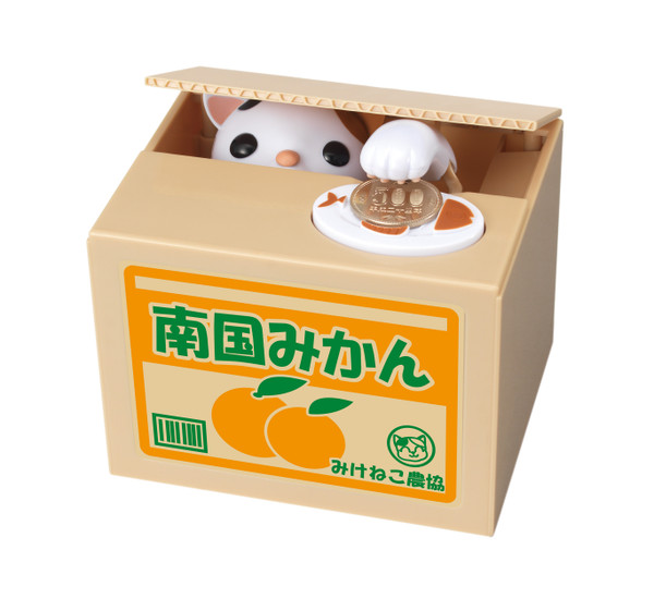 Cat in a Box Bank