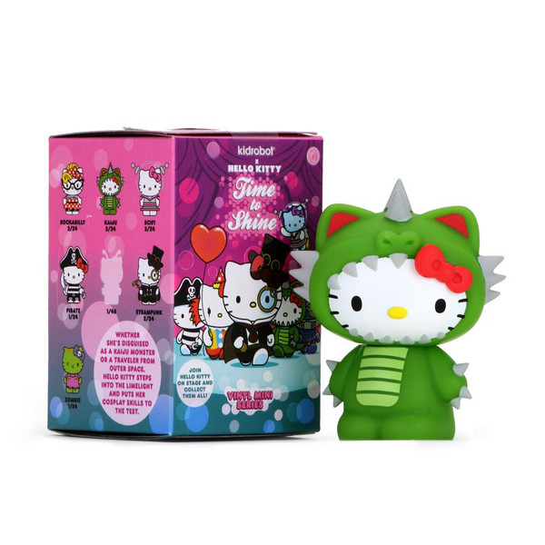 Hello Kitty Time To Shine Vinyl Mini Blind Box Series kidrobot