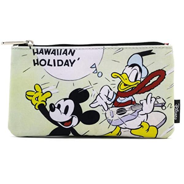 Mickey and Donald Hawaiian Holiday Disney Pencil Case