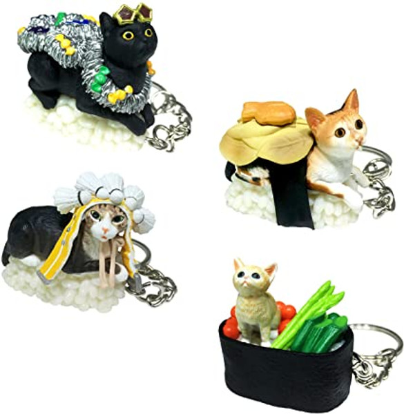 Sushi Cat Blind Box Series 3 keychain Surprise Box