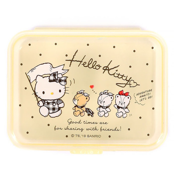 Hello Kitty Sticker Seals In Plastic Box