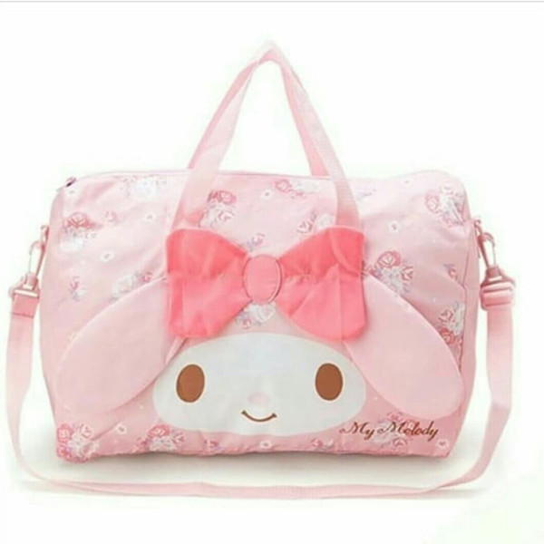 My Melody Foldable Boston Bag Luggage