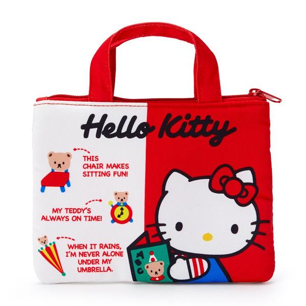 Hello Kitty 45th Anniversary Mini Zip Tote