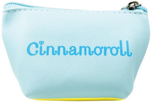Cinnamoroll Triangle Zip Pouch Keychain