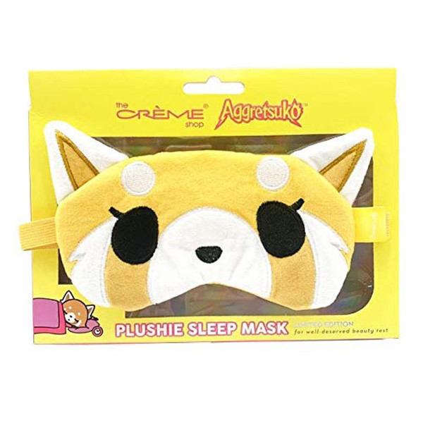 Aggretsuko Plush Sleep Mask