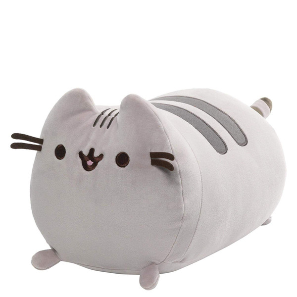 Pusheen Squisheen Log Laying Down 11in