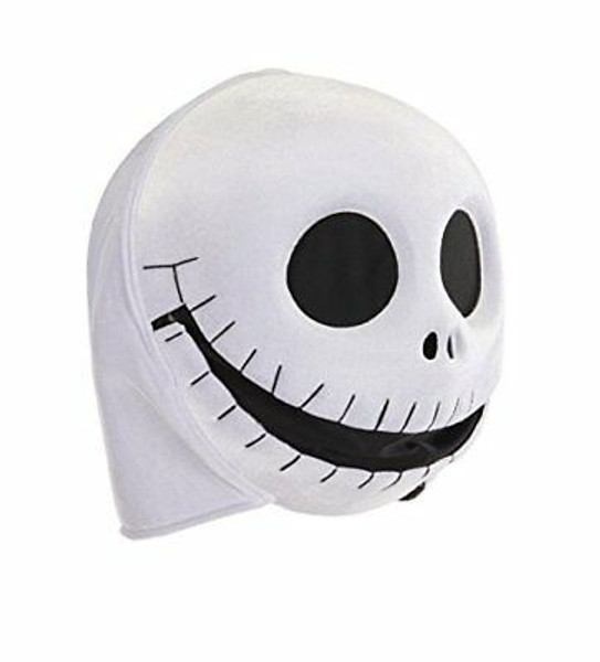 Jack Skellington Plush Mouth Mover Mask