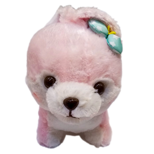 Little Shiba Inu Pink Amuse Plush