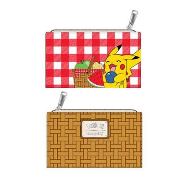 Pokemon Pikachu Picnic Basket Flap Wallet