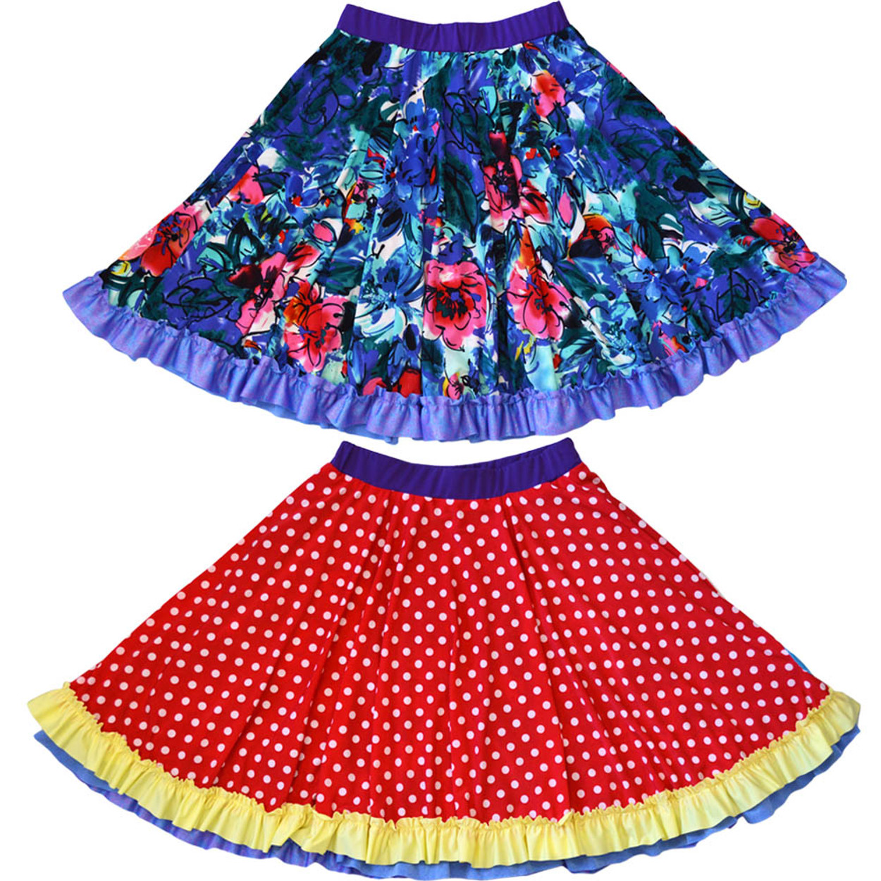 089bcf2c6 Twirly Girl Spinning Skirts for Girls Reversible Fun Pretty Party ...
