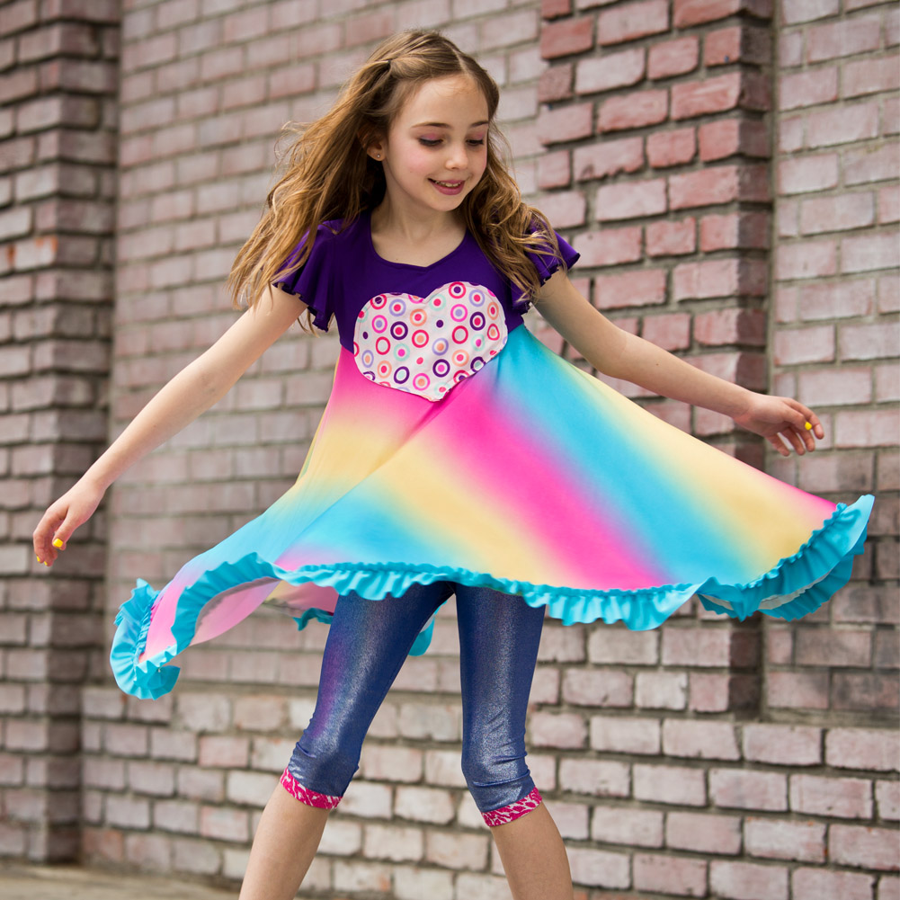 Kids Dress Party Or Any Time By TwirlyGirl®