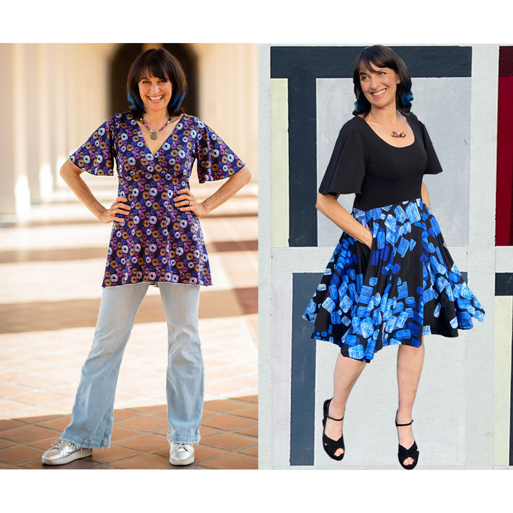 Women's clothing for travel fun and parties