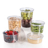 Somoplast Clear Deli Container SRC 250 ml 8oz just base (a pack of 500)
