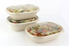 Sabert RPET LID For Oval Eco Street Pulp Bowl PUL58021 (Pack of 300)