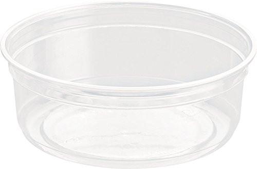 Solo [DM8R] Alur Clear Deli Container [8oz] (237ml) Just Base