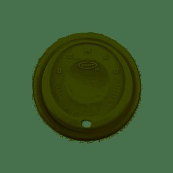 Dart [16EL] Plastic Lid Cappuccino White [14oz, 16oz] (a pack of 1000)