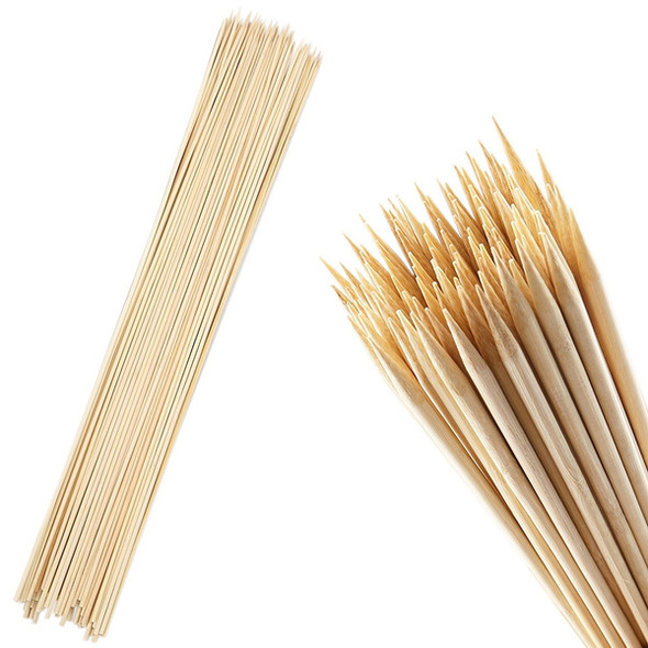 Wooden Bamboo Skewers [300mm] (a pack of 200)