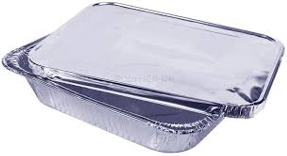 Half Gastronorm Foil Lid (a pack of 100)