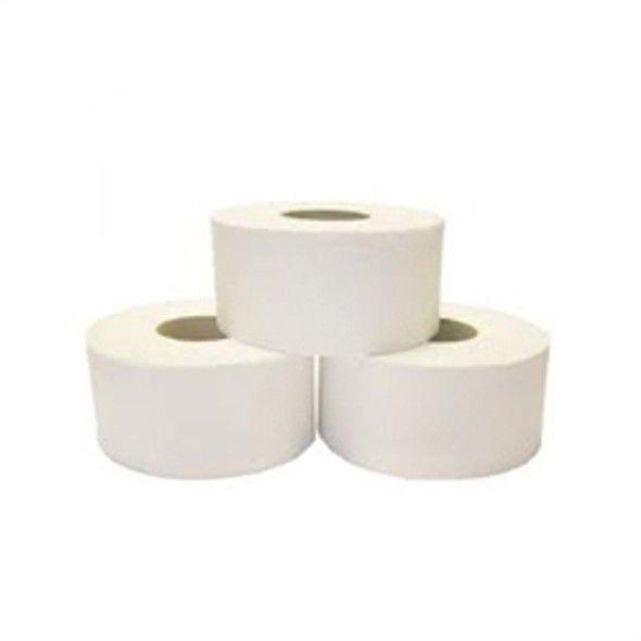 Mini-Jumbo Toilet Paper Roll 2ply [92mm x 150m] 60mm core (a pack of 12 Roll)