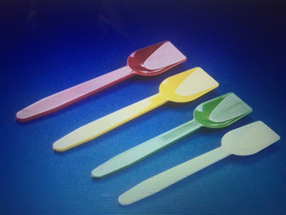 Plastic Gelato Ice Cream Spoons (a pack of 1000)