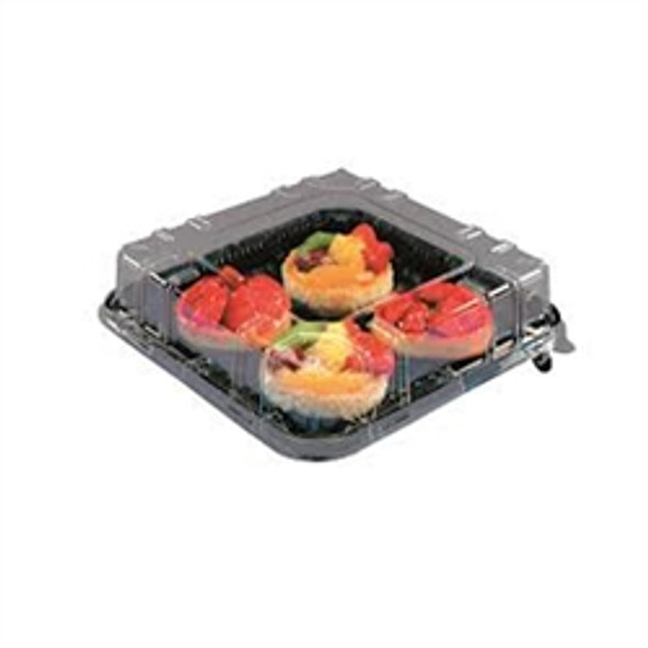 Actipack [1919DXN30] Black Gateaux Base [190x190] (a pack of 240)