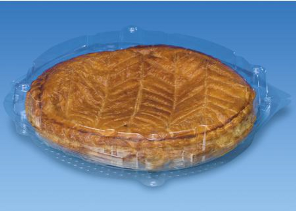 GPI Patipack [XG234] Clear Hinged Pie Pack (a pack of 210)