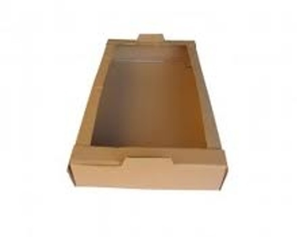 Die Cut Cardboard Delivery Tray Large [30x18x4inch] (a pack of 50)
