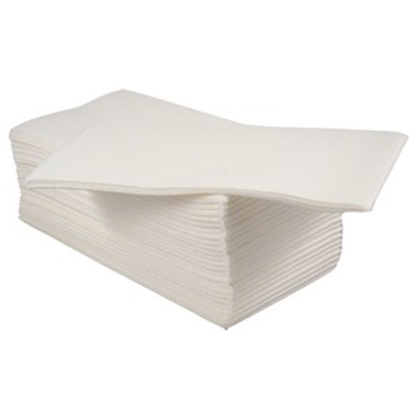 Poppies Napkins White 8 fold 2ply [40x40cm] (a Pack of 2000)