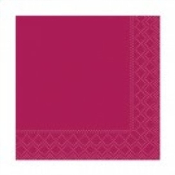Poppies Napkin Bordeaux 2ply [40x40cm](a pack of 2000)