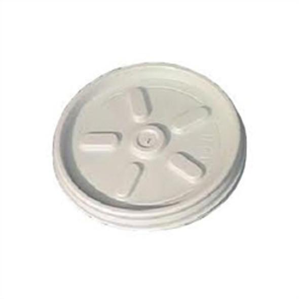 Dart [4JL] Plastic Lid Vent Translucent [4oz] (a pack of 1000)