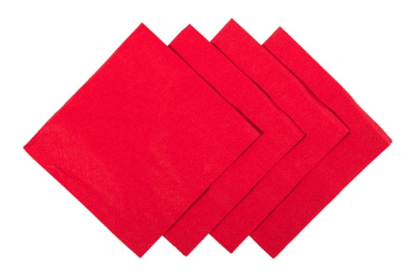 poppies Napkin Red 2ply [24x24cm] (a pack of 4000)