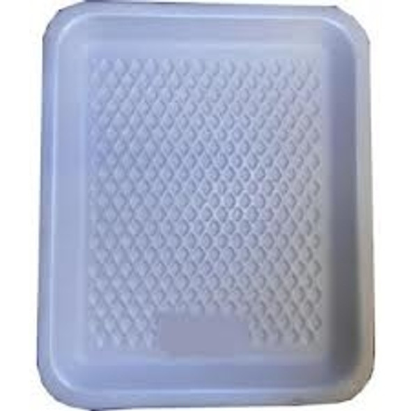 Linpac [3M] Polystyrene White Tray [222x133x16mm] a pack of 1000