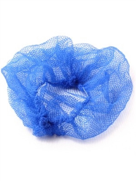 Hair Net (Bagged) Lightweight Blue (a pack of 100)