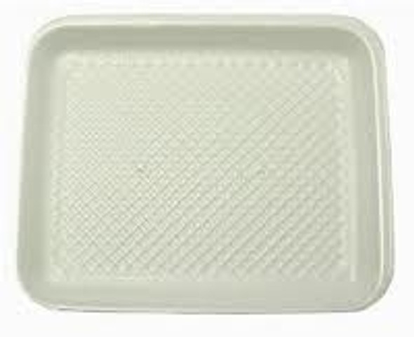 Linpac [2M] Polystyrene White Tray [178x133x16mm] a pack of 1000